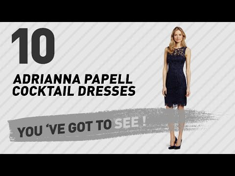 Adrianna Papell Cocktail Dresses // New & Popular 2017