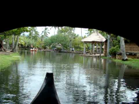 Canoe Ride @ Polynesian Cultural Center