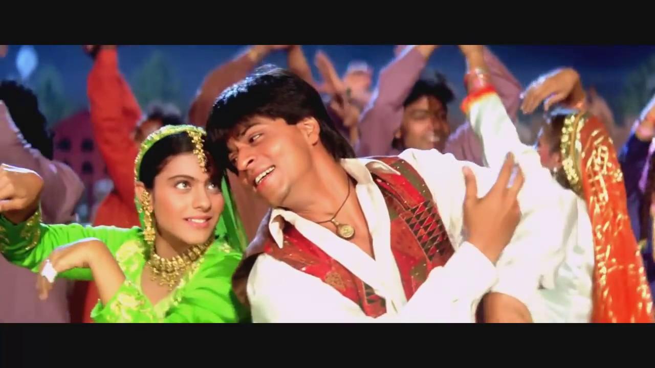 Dilwale dulhania le jayenge Filmi içindeki Hint Müziği çok güzel dans ediyorlar HD