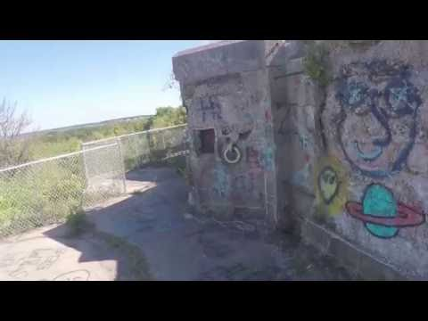 Fort Mansfield: Watch Hill, Westerly, Rhode Island, Napatree Point, Abandoned Fort