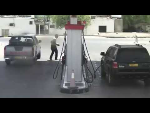 Oman petrol pump accident.
