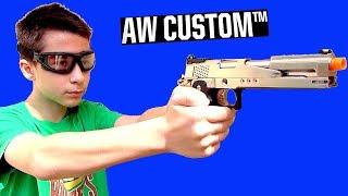 AW Custom AW-HX2201 Gold Standard Gas Blowback Hi Capa with Robert