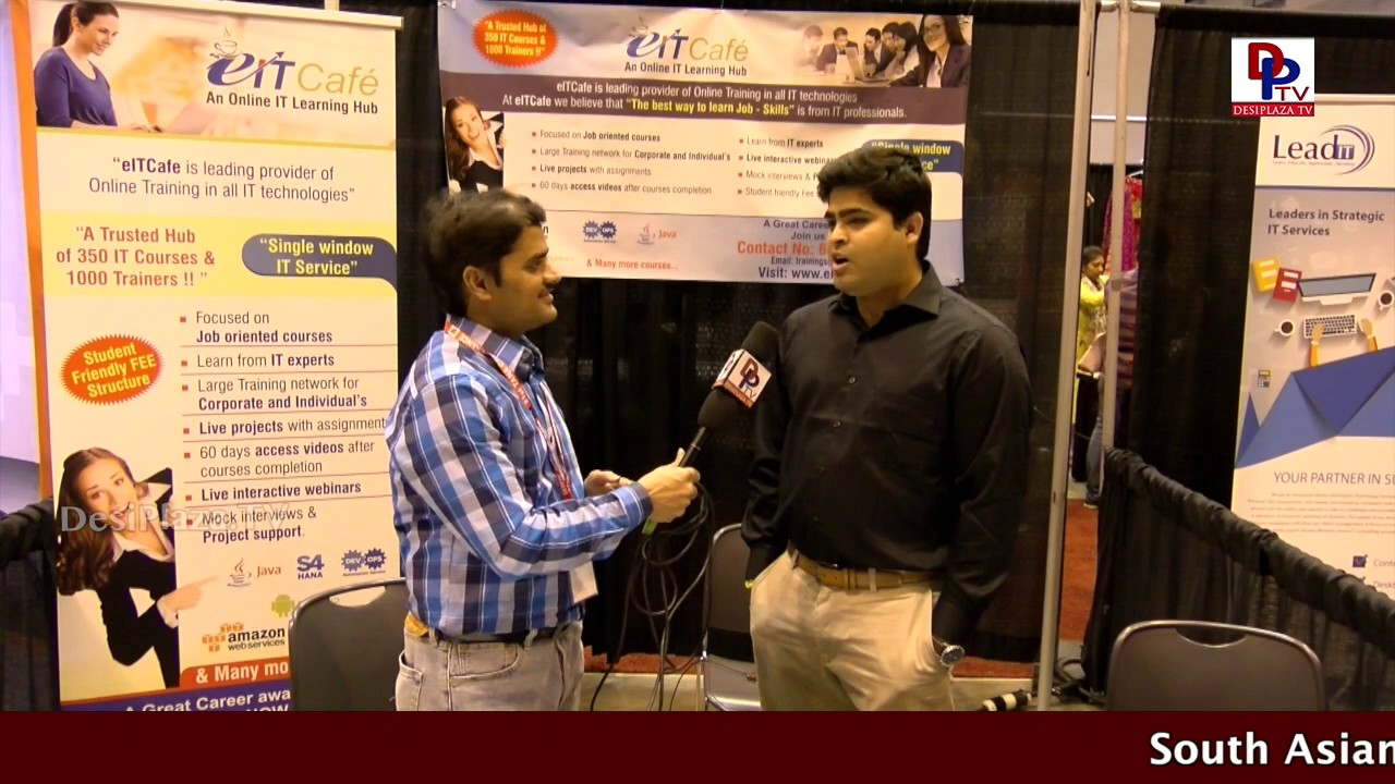EitCafe - IT training Services Company speaks to desiplaza TV at  TANA Conference - 2017 - St Louis