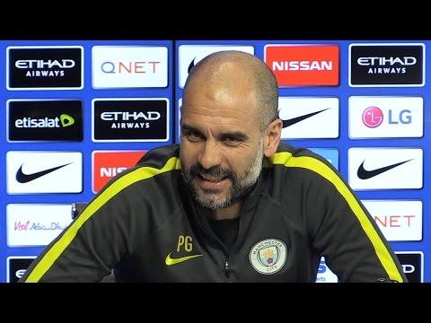 Pep Guardiola Full Pre-Match Press Conference - Manchester City v Stoke