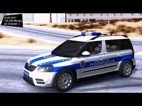 Škoda Yeti Serbian Border Police New ENB Top Speed Test GTA Mod Future