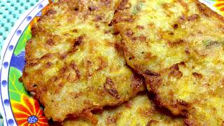 Драники из картошки с кабачком Драники картофельно-кабачковые 감자와 호박 튀김