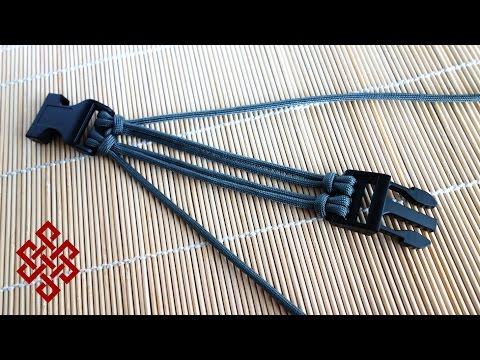 Download How To Make 4 Strand Paracord Braid With A Core And Buckle