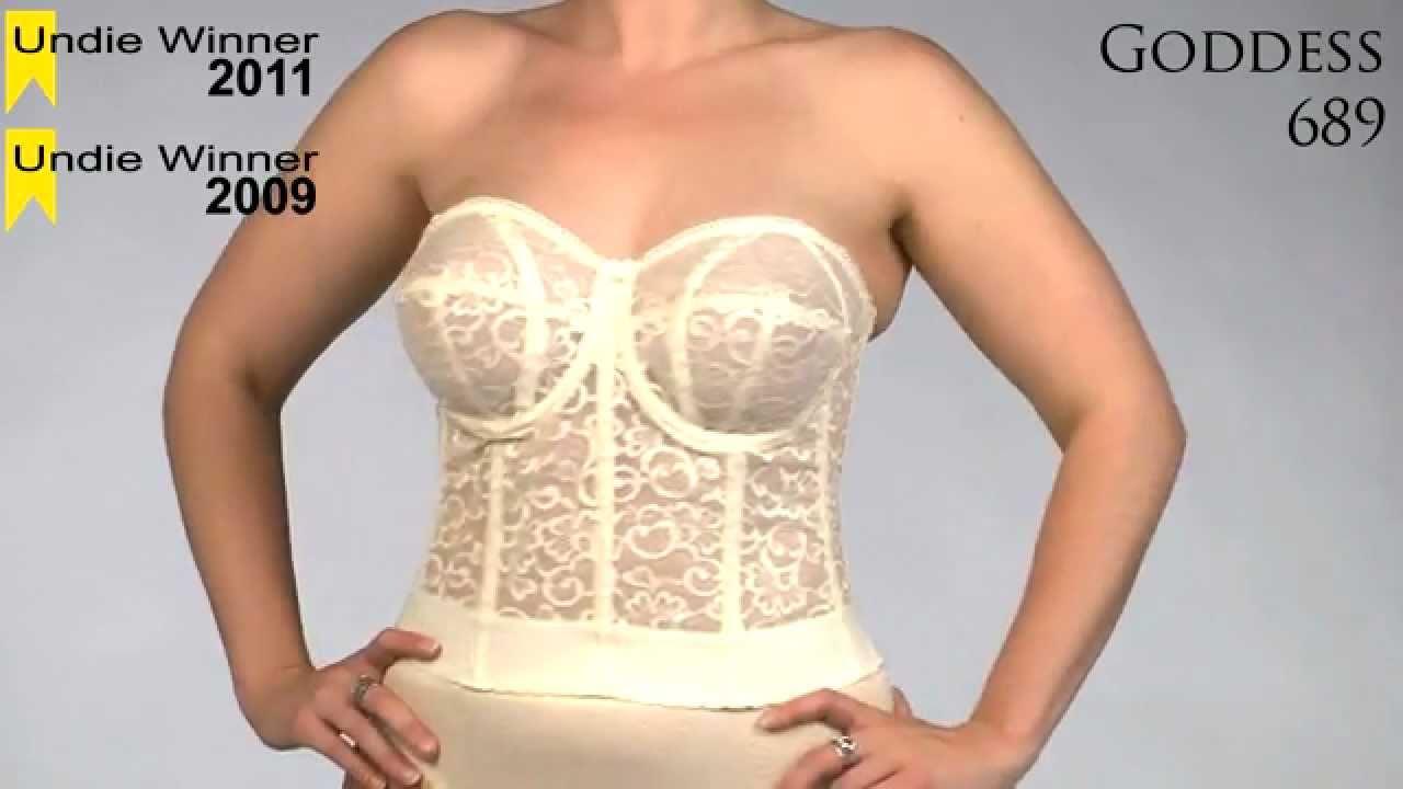 2011 Undie Awards Favorite Full Figure Strapless Bra - Goddess 689 ...