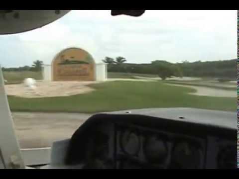 Flight to Caye Chapel Golf Resort, Belize