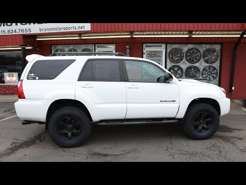 2006 4Runner Lift & Tire Upgrade - Before & After