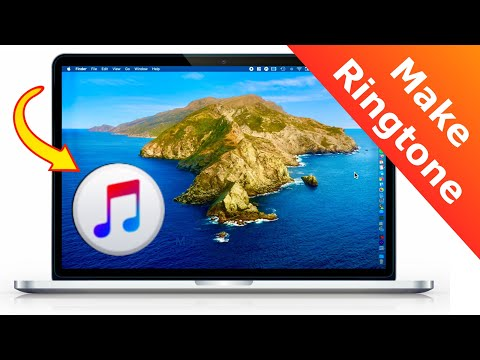 How To Make IPhone RINGTONE On MacOS Catalina!