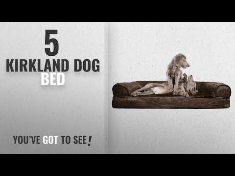 Top 5 Kirkland Dog Bed [2018 Best Sellers]: FurHaven Ultra Plush/Velvet Orthopedic Dog Couch Sofa