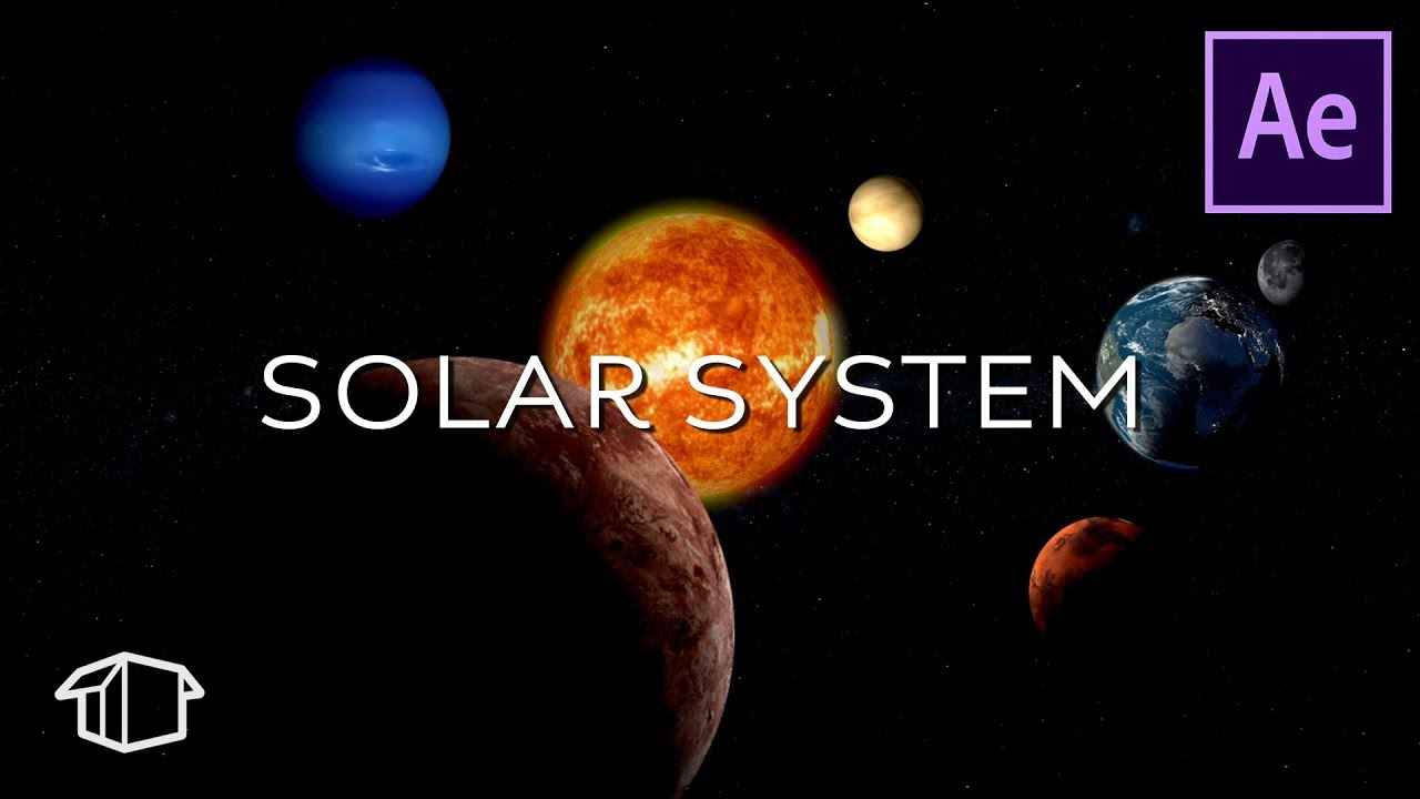 solar system after effects - photo #1