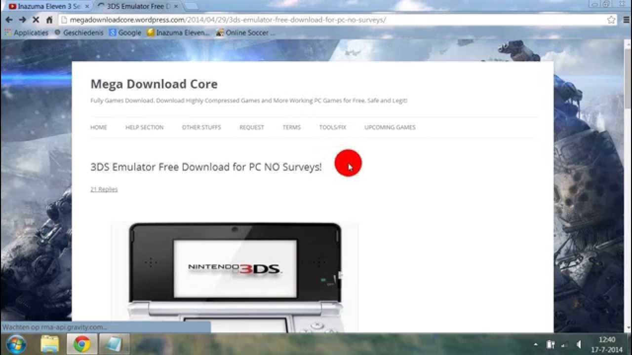 nintendo 3ds emulator 2.9.4