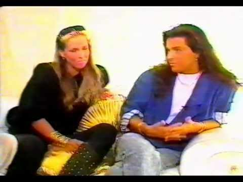 Thomas Anders & Nora interview about Modern Talking