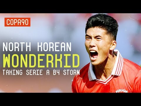 The North Korean Wonderkid Wanted By Juventus