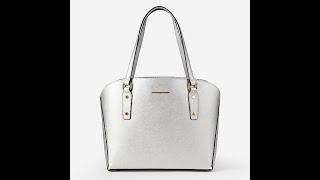 Классическая сумка Alessandro Beato 608-S1310 silver