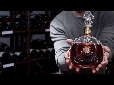 Testar cognac för 25 000:- flaskan (Louis XIII)