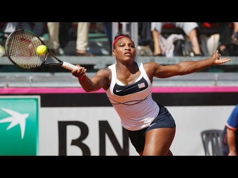 Camila Giorgi vs Serena Williams Fed Cup 2015