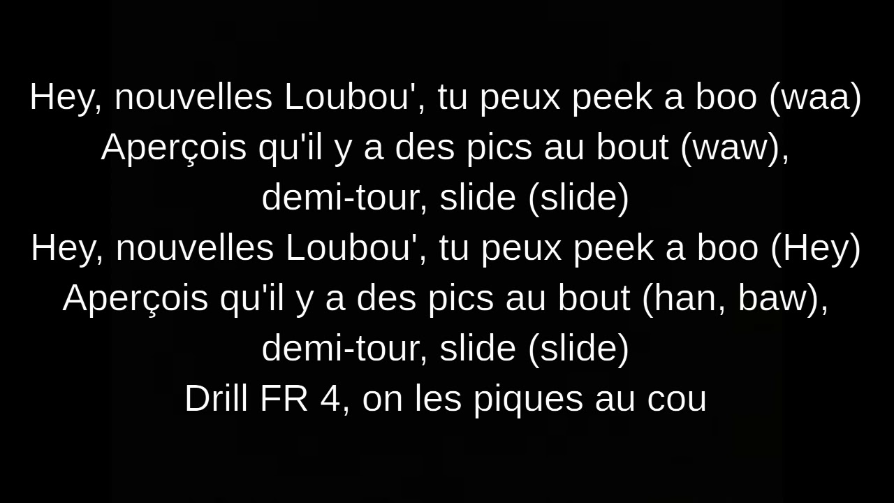 Download Drill FR #4 Lyrics (Gazo & Freeze Corleone)