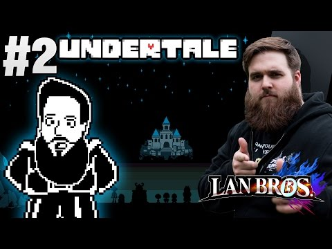 UNDERTALE BLIND PACIFIST RUN with LAN Bro Nick (Part 2)