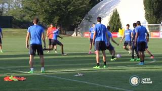ALLENAMENTO INTER REAL AUDIO 28 08 2015