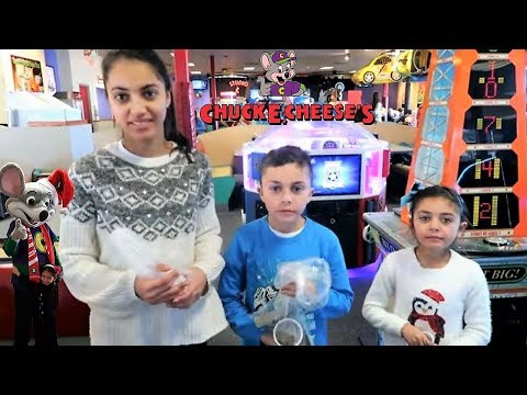 Chuck E Cheese Where A Kid Can Be A Kid! Family Fun Indoor Activities for Children