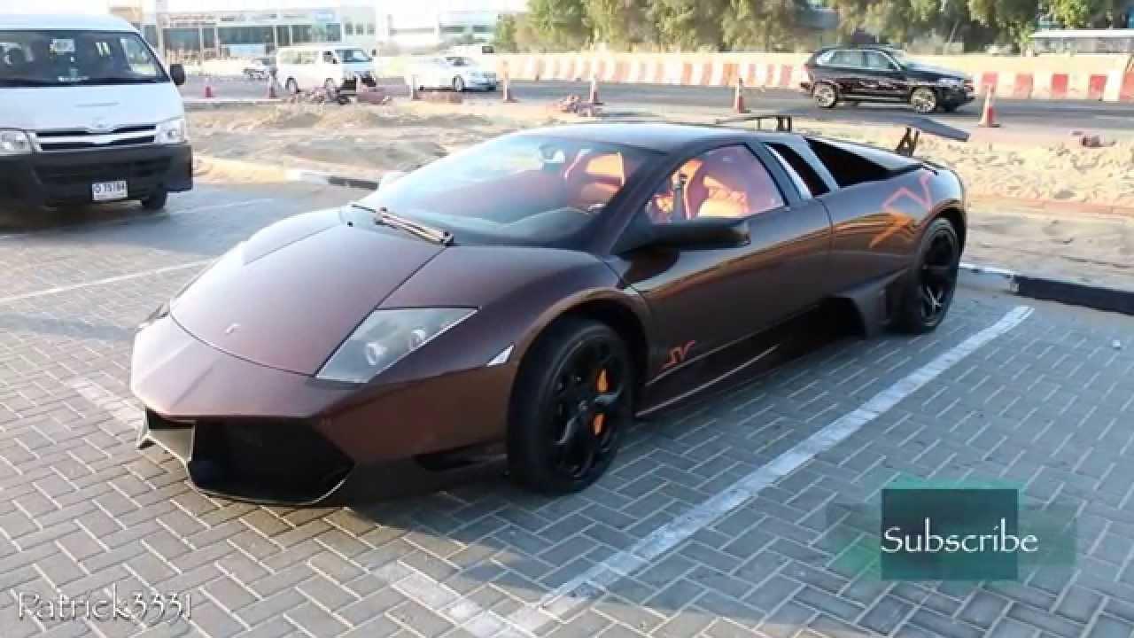 Quot Fake Quot Lamborghini Murcielago Sv Chocolate Exterior
