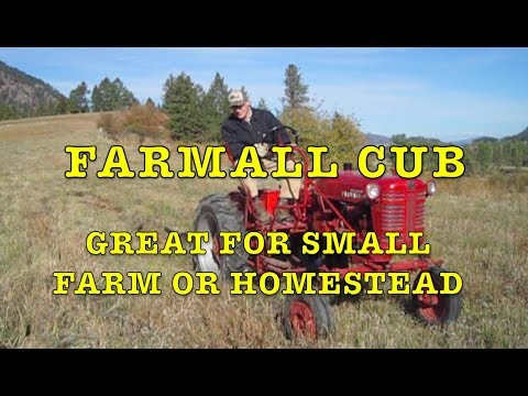 Farmall Cub: Great Tractor for Small Farm or Homestead