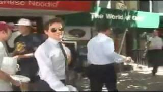 """White Collar"" set video (7/5/11)"