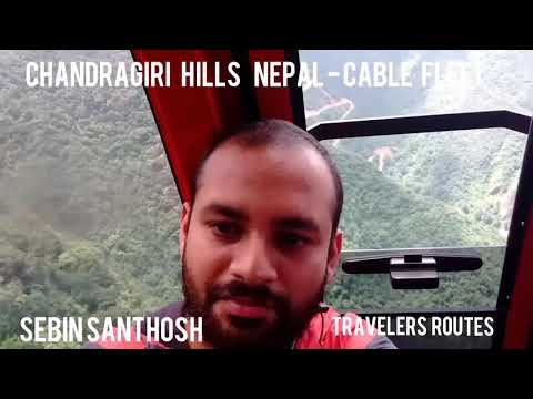 Cable Fleet at Chandragiri Hills - Nepal
