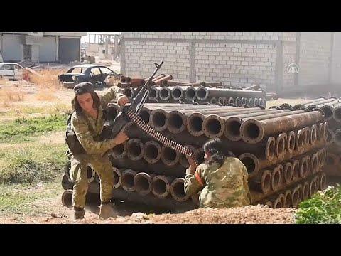 شاهد: معارك عنيفة بين القوات المدعومة تركيا والأكراد في سوريا …  - نشر قبل 3 ساعة