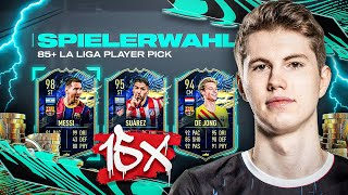 """OP"" oder ""SCAM""? 😬 15x LA LIGA TOTS 85+ PLAYER PICKS ⚡🔥I FIFA 21 Ultimate Team"