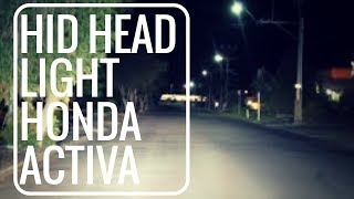 Best head light for Honda activa | all sccotor| bikes