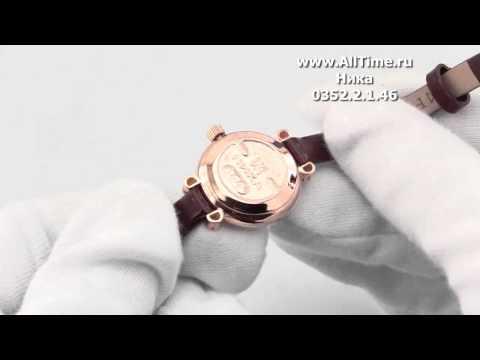 Женские наручные золотые часы Ника 0352.2.1.46