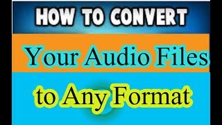 How to Convert ANY Audio  to MP3 Convert Any Spotify Music to MP3