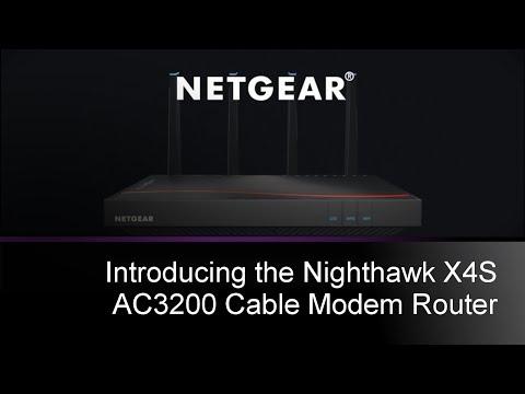 NETGEAR Nighthawk X4S WiFi Cable Modem Router | C7800
