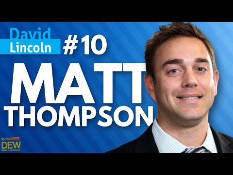 Great Trader Profiles #10 Matt Thompson Tail Risk in  XIV #Kaizen David Lincoln DavidLincoln