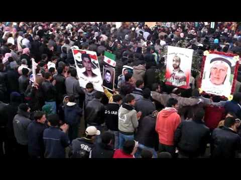 13 1 Al Musayfirah Daraa أوغاريت المسيفرة حوران , مظاهرات جمعة دعم الجيش السوري الحر