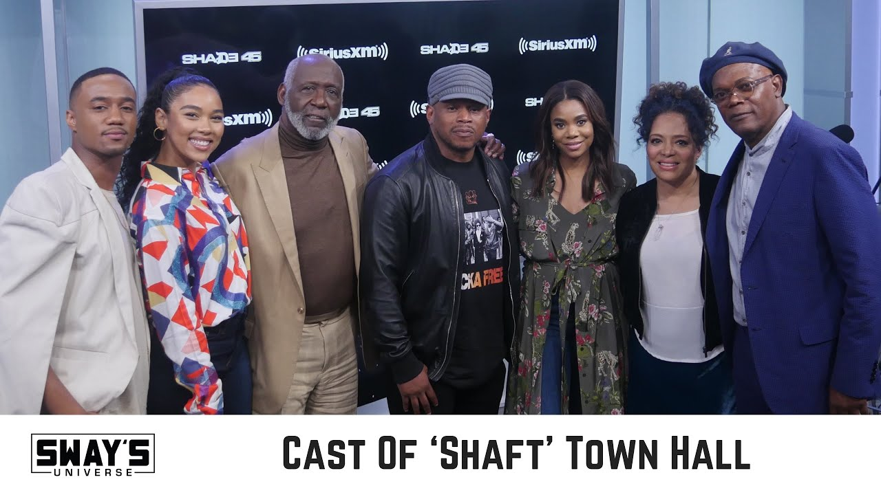 Samuel L. Jackson & The Cast of Shaft Interview: Gun Violence, Donald Trump & New Film