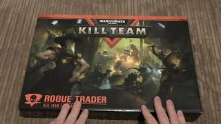 Kill Team - Rogue Trader - Unboxing Wh40k