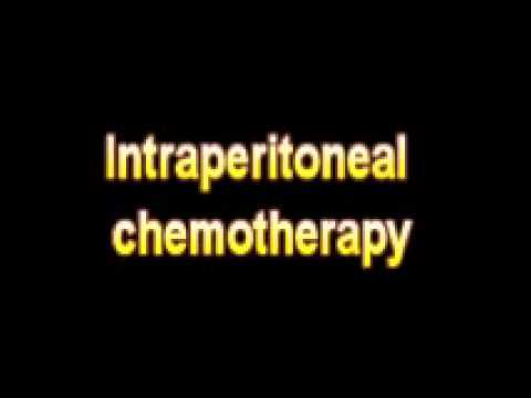 What Is The Definition Of Intraperitoneal chemotherapy Medical School Terminology Dictionary