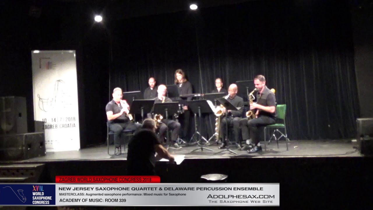 SAxophone Quartet Nº1 by Arturo Stable   New Jersey  Saxophone Quartet   XVIII World Sax Congress 20
