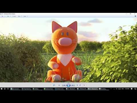 how to create similar pixar sunrise light part1