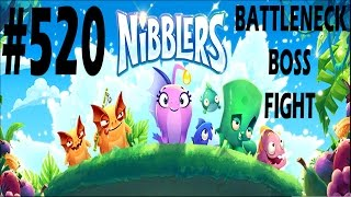 rovio nibblers battleneck boss fight level 520 walkthrough