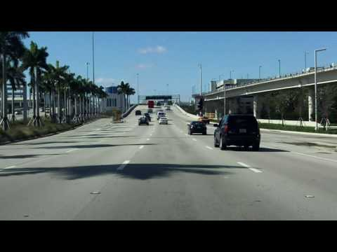 Miami International Airport Terminal Tour inbound