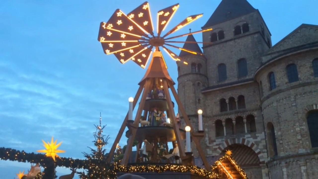 Weihnachtsmarkt In Trier.Impressionen Vom Trierer Weihnachtsmarkt