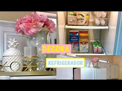 Ideas para decorar tu refrigerador y como organizarlo for Ideas para decorar antejardin