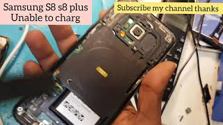 Samsung S8 unable to charge Solutions in hindi Urdu Eng