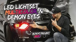 Ford Mustang LED Lichtset Multicolor & Demon Eyes Look | Velocity